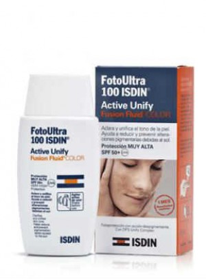 Fotoultra100isdin Active Unify Col Fl 50ml