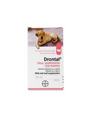 Drontal Puppy Susp Or 1ml/1kg 50ml
