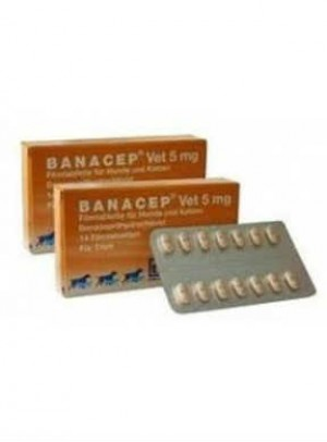 Banacep Vet Comp Rev Caes 5mg X14