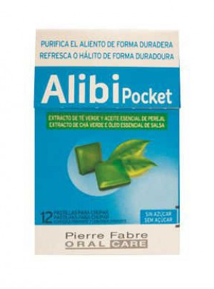Alibi Pocket Past S/Ac Mau Halito X12